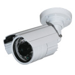 Telecamera Bullet D/N elettronica IR 3,6mm 12V.Illuminatori led integrati.600 Linee TV