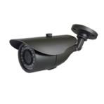 Telecamera bullet a colori day&night elettronica,sensore CCD 1/3″,alta risoluzione. 600 linee.