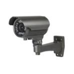 Telecamera bullet a colori day&night elettronica,sensore CCD 1/3″.700 linee ottica 2,8-12